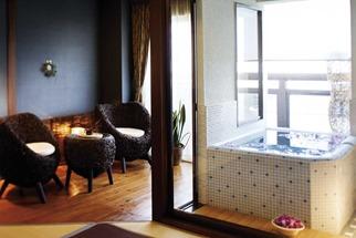 海望む露天風呂付き客室