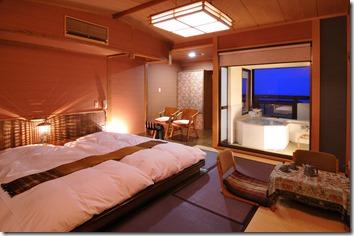 露天風呂付きオリエンタル和室