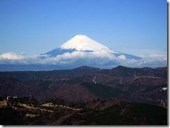大室山から富士山