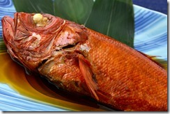 宿名物金目鯛姿煮