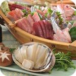 夢海月本鮪地魚あわびしゃぶ四角
