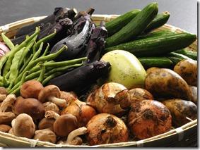 旬の地場野菜 (2)