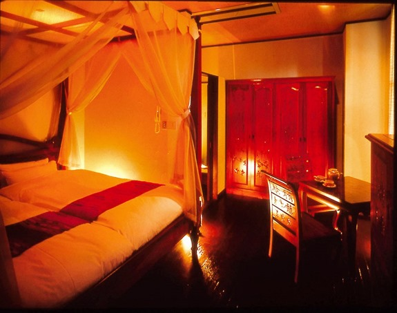特別室バリルーム 寝室