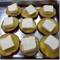 さつま芋レモンとチーズ豆腐