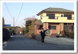 大室別荘地内2つ目の十字路