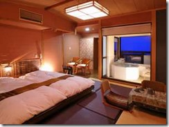 海望む露天風呂付きオリエンタル客室